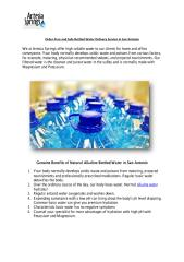 Order Pure and Safe Bottled Water Delivery Service in San Antonio.pdf
