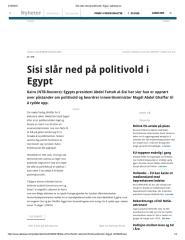 Sisi slår ned på politivold i Egypt -adressa.pdf