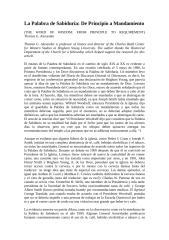 La Palabra de Sabiduria.doc