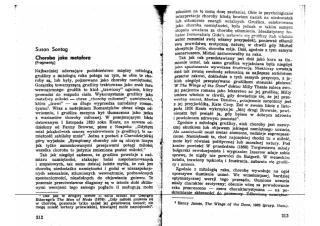 Susan Sontag - Choroba jako metafora.pdf