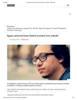 Egypt cartoonist Islam Gawish arrested 'over website' - BBC News.pdf