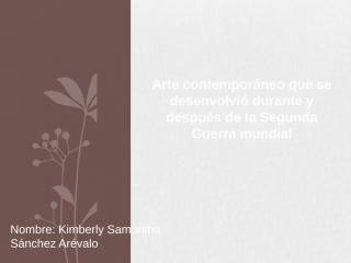 Arte ContemporáneoIIGMDyD.pptx