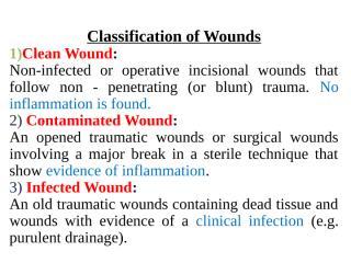 Wound healing .ppt
