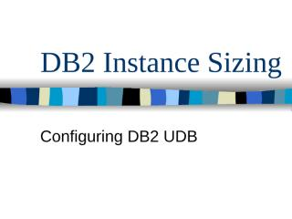 DB2 Instance Sizing.ppt