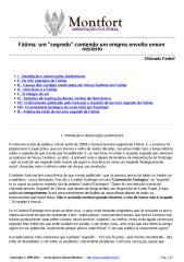Fátima, um 'segredo' contendo um enigma envolto em um mistério - Orlando Fedeli.pdf