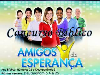 Concurso Bíblico 2011 - 08.ppt