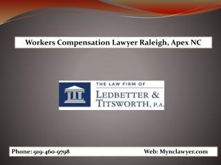 Workers Compensation Attorney Lawyer Raleigh, Apex NC.pdf