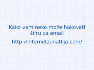 Kako hakovati email adresu-.pptx