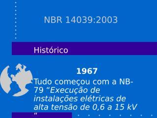 NBR 14039.ppt