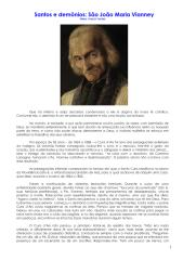 Santos e Demônios - São João Maria Vianney, Mons. Francis Trochu.pdf