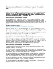 Neurocutaneous Disorder Market Research Report – Forecast to 2023.pdf