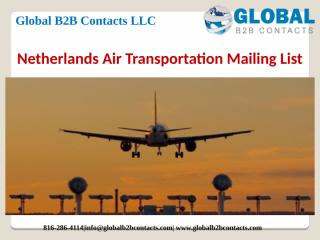 Netherlands Air Transportation Mailing List.pptx