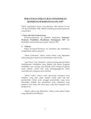 Peraturan peraturan Pendidikan 1997.pdf