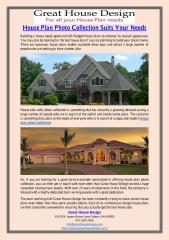 House Plan Photo Collection Suits Your Needs.pdf