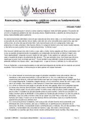 Reencarnação - Argumentos Católicos contra os fundamentos do espiritismo - Orlando Fedeli.pdf