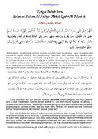 31 Solawat Sultan Al Auliya 'Abdul Qadir Al Jilani