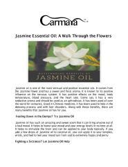 Jasmine Essential Oil A Walk Through the Flowers.pdf