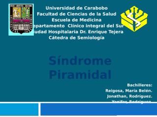 Sindrome Piramidal2..pptx