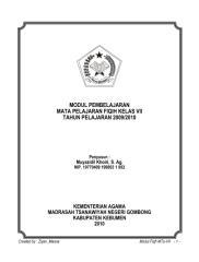 modul fiqih kls 7 mts.pdf