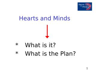 Intro to Hearts and Minds Intro Feb 2007MEA train the trainer .ppt