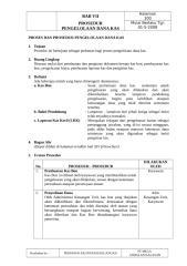 Bab VII - Prosedur Pengelolan Dana Kas.doc