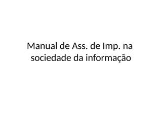 assessorianasociedadeinformacao.ppt