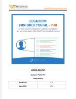 WordPress SugarCRM Customer Portal Pro Plugin.pdf