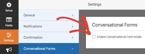 WPForms Conversational Forms