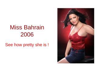MissBahrain2006.pps