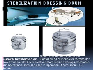 Presentation of Sterilization Dressing Drum.pptx