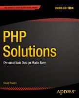 PHP Solutions - Dynamic Web Design Made Easy, 3rd edition.1484206363.pdf