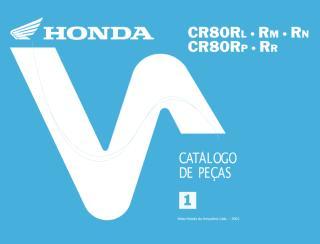 Catálogo de peças - CR80R.PDF