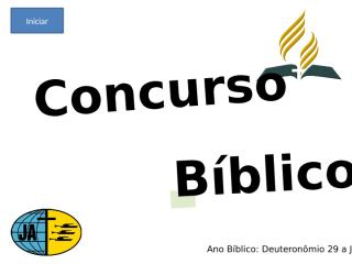 Concurso Bíblico 2010 - 001.ppt