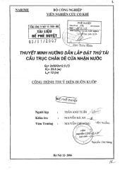 BK - Thuyet minh huong dan lap dat thu tai cau truc chan de cua nhan nuoc.pdf