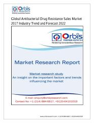 Global Antibacterial Drug Resistance Sales Market Product and Production Information analysis and forecast to 2022.pdf
