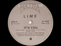 Lime -  It's you 1981.mp3